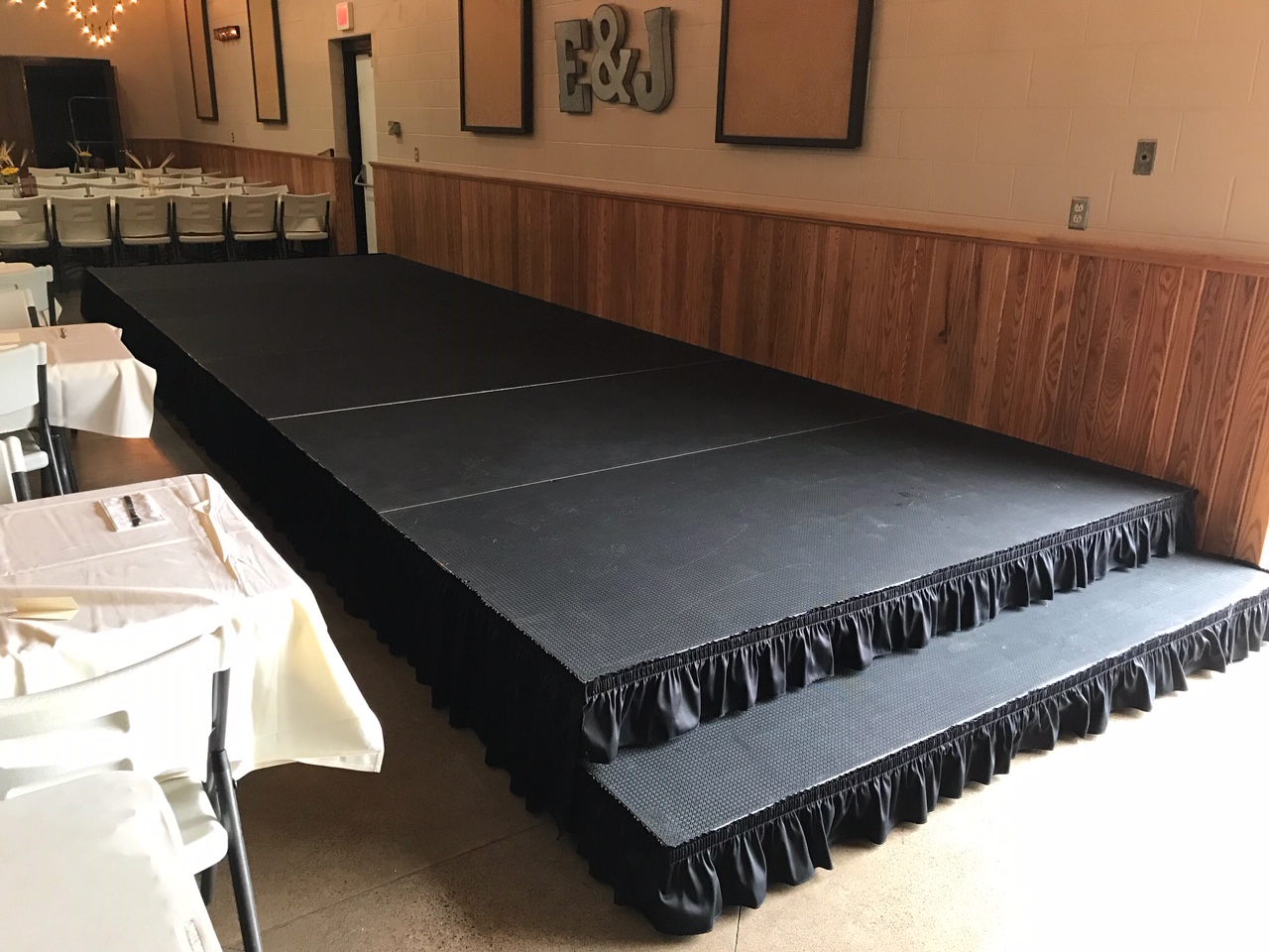 Riser and Stage Rental