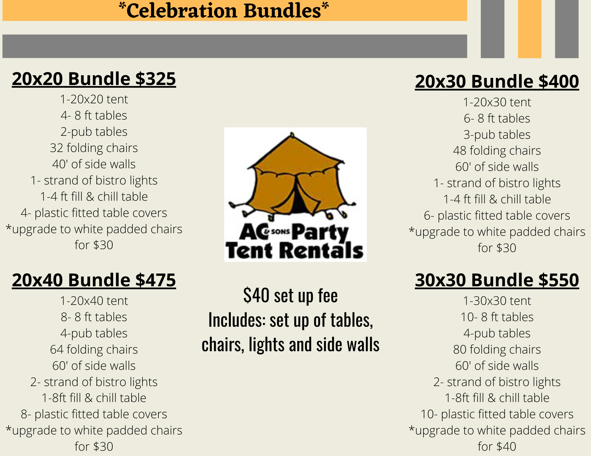 Celebration Bundles